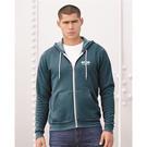 bella + canvas 3739 unisex full-zip hooded sweatshirt