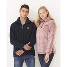 boxercraft q10 unisex sherpa quarter-zip pullover
