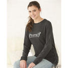 boxercraft v03 enzyme washed women's rally lace-up crewneck