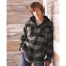j. america 8620 cloud fleece hooded pullover sweatshirt