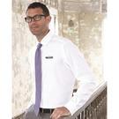 calvin klein 13ck029 non-iron dobby pindot shirt