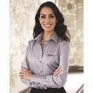 calvin klein 13ck030 women's non-iron dobby pindot shirt