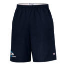 "champion 8180 9"" inseam cotton jersey shorts with pockets"