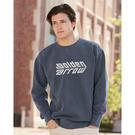 comfort colors 1566 garment dyed ringspun crewneck sweatshirt