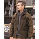 dri duck 5089 horizon two-tone boulder cloth™ canvas jacket