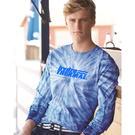 dyenomite 240cy cyclone vat-dyed pinwheel long sleeve t-shirt