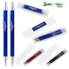 derby soft touch metal ballpoint & mechanical pencil gift set