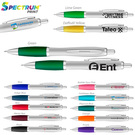 curvaceous silver matte gel pen