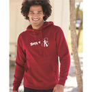 independent trading co. afx4000 hooded pullover sweatshirt