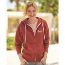 independent trading co. afx90unz unisex hooded full-zip sweatshirt