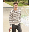 independent trading co. prm90htz unisex french terry heathered hooded full-zip sweatshirt