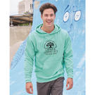 independent trading co. ss4500 midweight hooded pullover sweatshirt