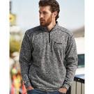 j. america 8614 cosmic fleece quarter-zip pullover sweatshirt