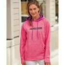 j. america 8616 women's cosmic fleece contrast hooded pullover sweatshirt