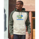 j. america 8885 vintage heather hooded sweatshirt