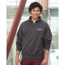 jerzees 995mr nublend® quarter-zip cadet collar sweatshirt