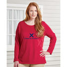 just my size jms40 women's long sleeve t-shirt