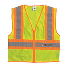 ml kishigo 1055-1056 ultra-cool™ mesh contrasting vest