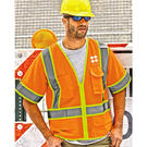ml kishigo 1242-1243 ultra-cool™ mesh surveyor's vest