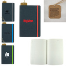 recycled bonded leather hardcover notebook