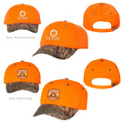 outdoor cap 202is blaze crown camo visor cap