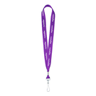 """recycled usa made standard 1"""" lanyard with crimp"""