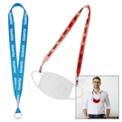 "recycled standard 1"" lanyard"