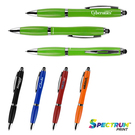 antibacterial curvaceous ballpoint stylus