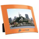 "4"" x 6"" curve photo frame - orange"
