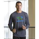 russell athletic 64lttm essential long sleeve 60/40 performance tee