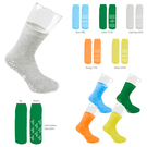 comfy-fit single side non-slip grip socks