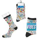 custom tall sport style socks - digital sublimation