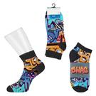 custom short sport style socks - digital sublimation