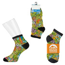 custom mid-rise sport style sock - digital sublimation