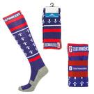 custom running-length sport style socks