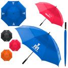 """arcus auto-open 60"""" vented canopy golf umbrella"""