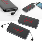 volt ul listed 10,000 mah built-in cable powerbank