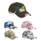 valucap vc300cm camo bio-washed unstructured cap