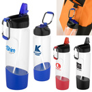 tritan™ water bottle with carabiner - 28 oz.