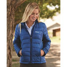 weatherproof 15600w 32 degrees women's packable down jacket