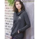 weatherproof w18706 women's heat last faux cashmere funnelneck sweatshirt