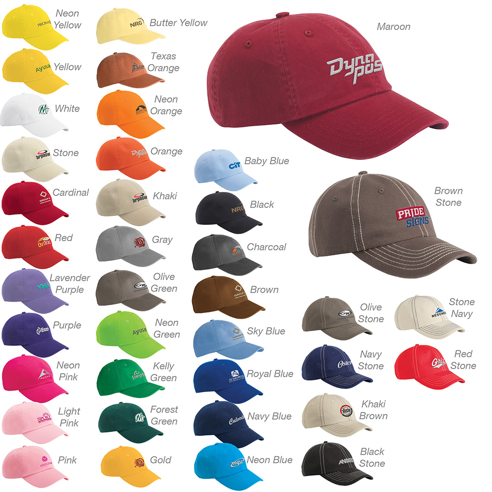 ebcea2a1f3f67 Valucap Bio-Washed Unstructured Cap