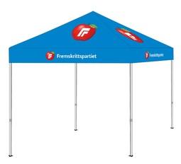FrP telt m/logo